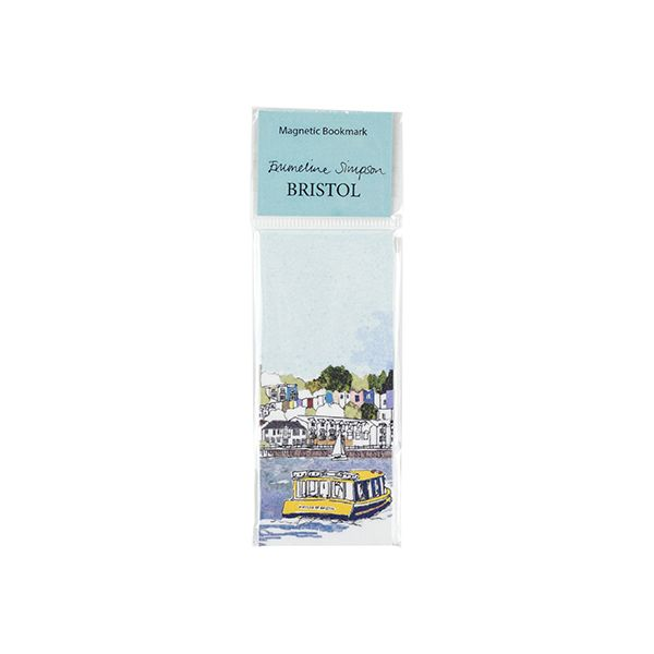 Harbourside View Magnetic Bookmark