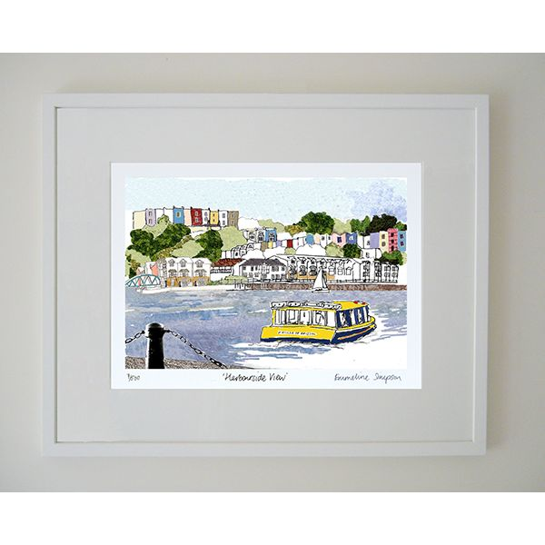 Harbourside View Limited Edition Bristol Print