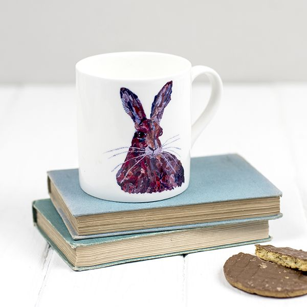 Hare Fine Bone China Mug