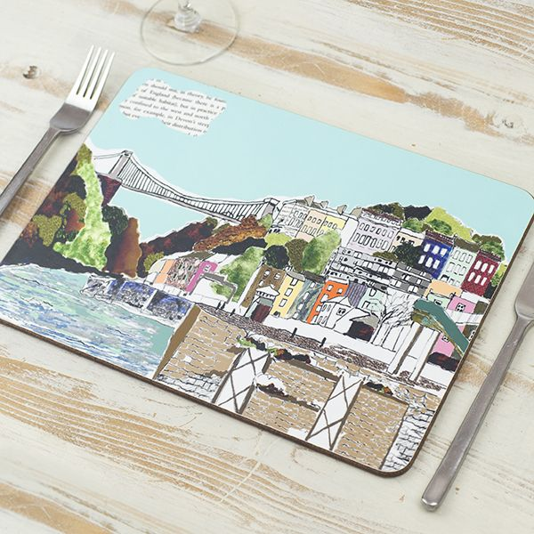 Hotwells View Bristol Placemat