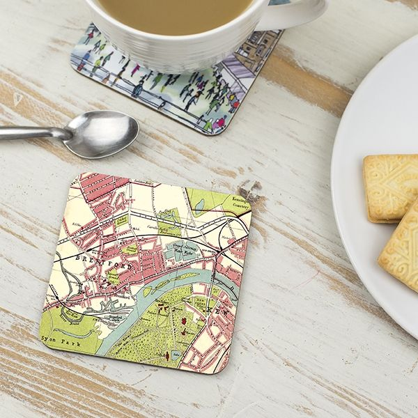 Kew Map, London Coaster