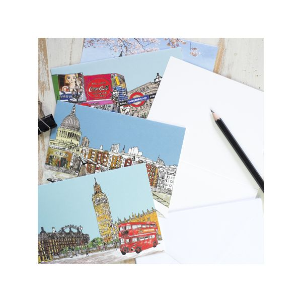 Images of London Set of 8 Notecards