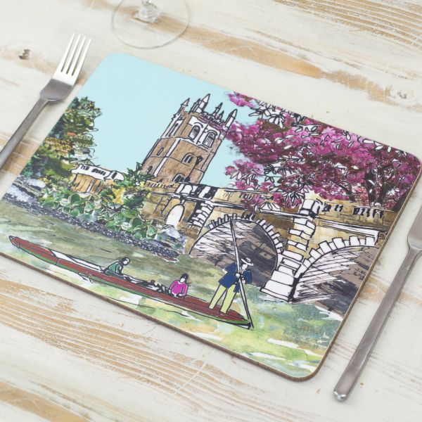 Set of Four Oxford Placemats