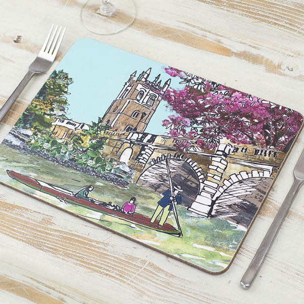 Magdalen Bridge Oxford Placemat