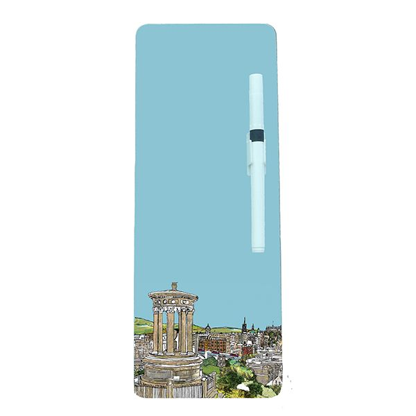 Calton Hill Edinburgh Magnetic Memo Board