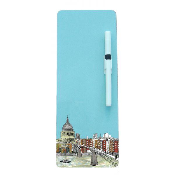 Millennium Bridge Magnetic Memo Board