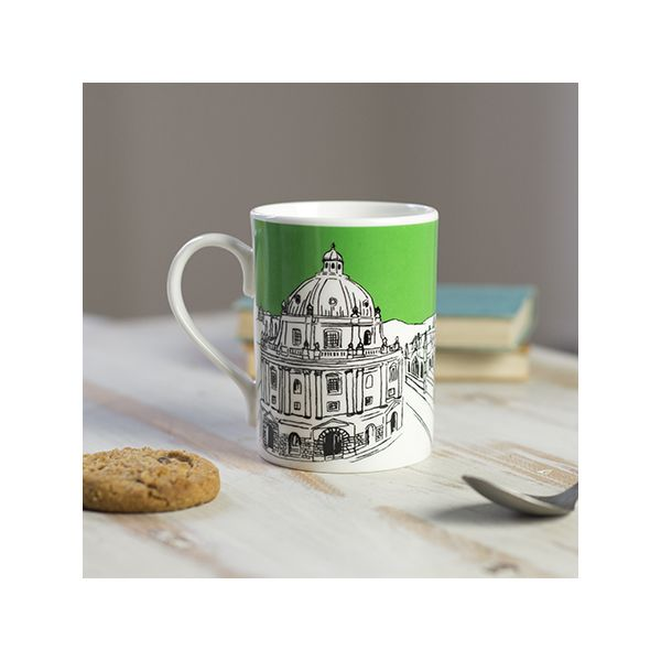 Oxford Skyline Mug Green