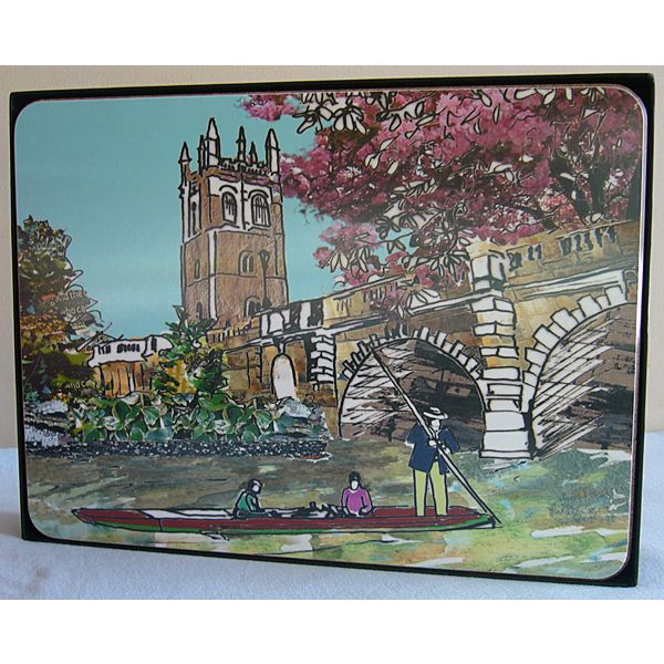 Set of Six Oxford Placemats