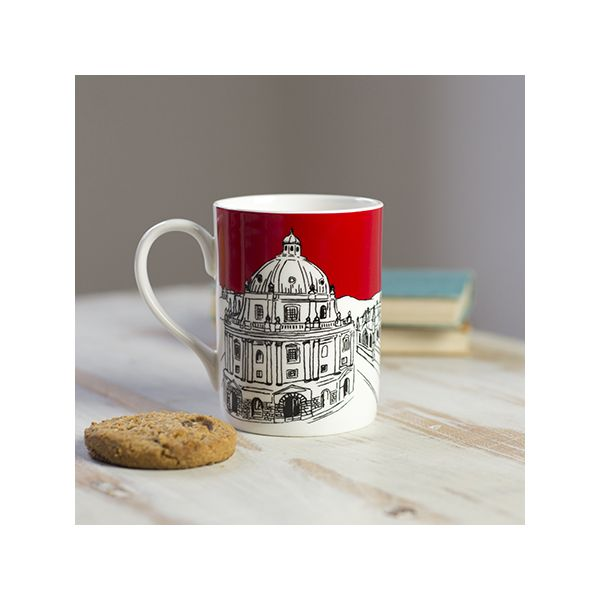 Oxford Skyline Mug Red