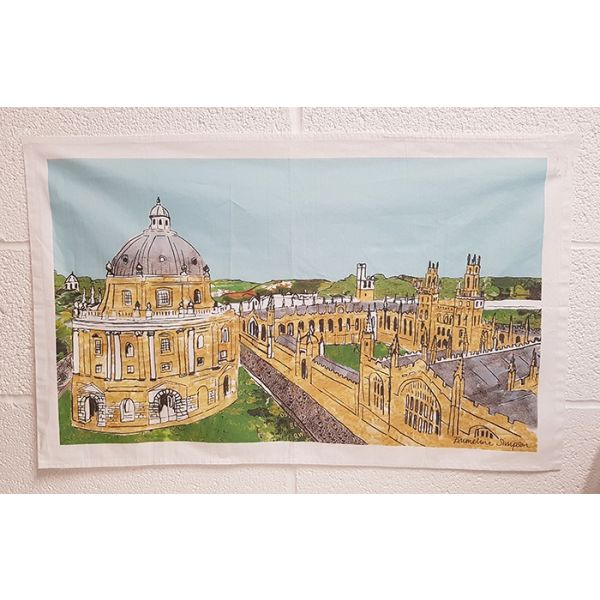 Oxford Skyline Tea towel