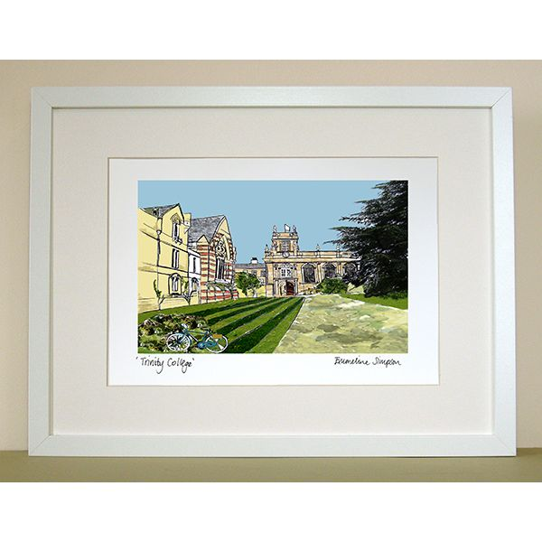 Trinity College Oxford Print