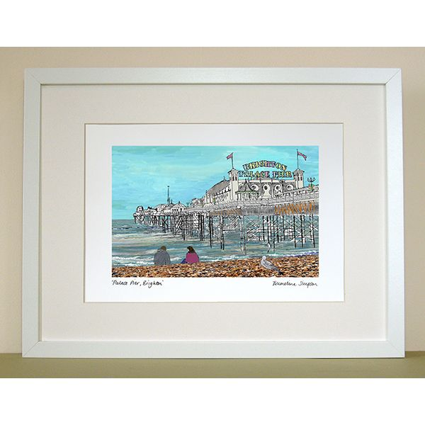 Palace Pier Brighton A4 Print