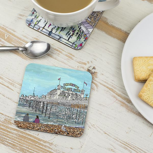 Palace Pier Brighton Coaster