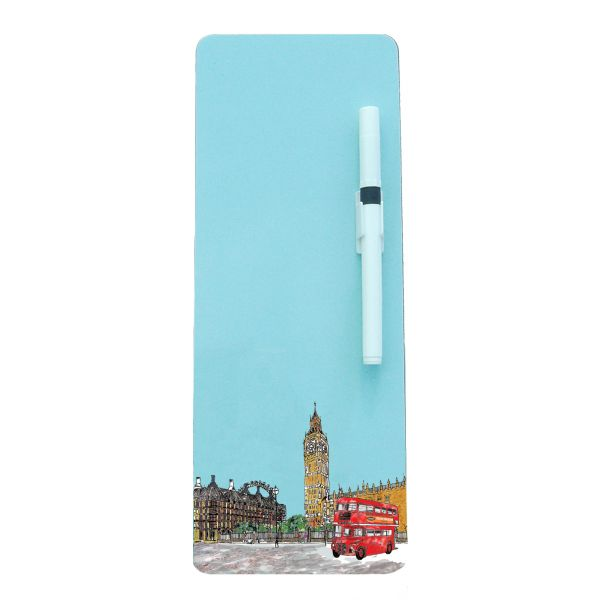Parliament Square Magnetic Memo Board