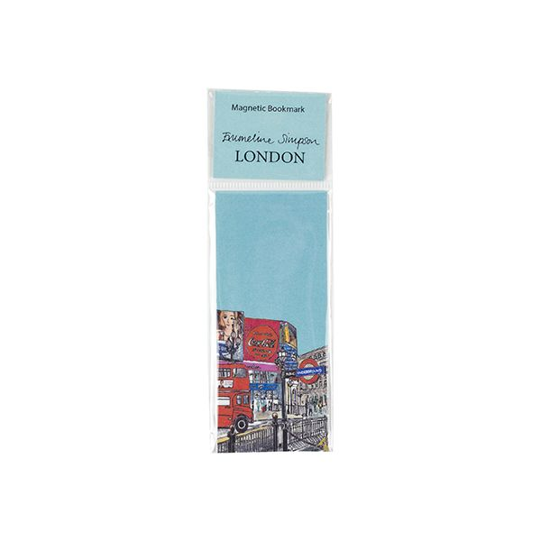 Piccadilly Circus Magnetic Bookmark