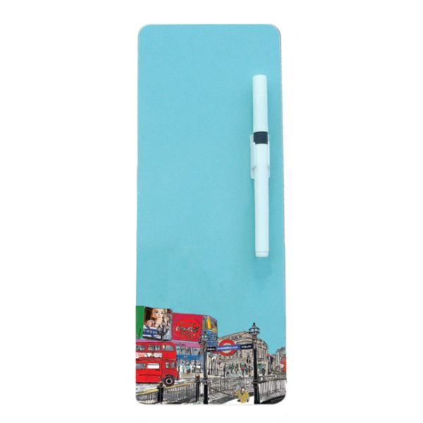 London Piccadilly Circus Magnetic Memo Board