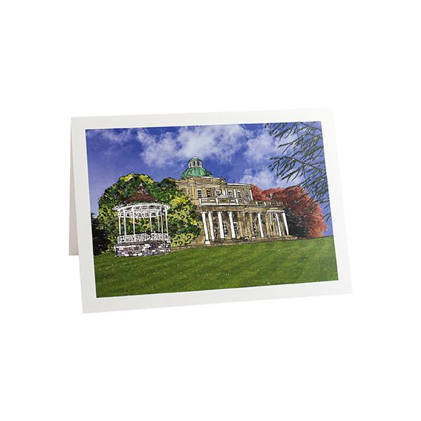 Pittville Pump Room Cheltenham Greetings Card