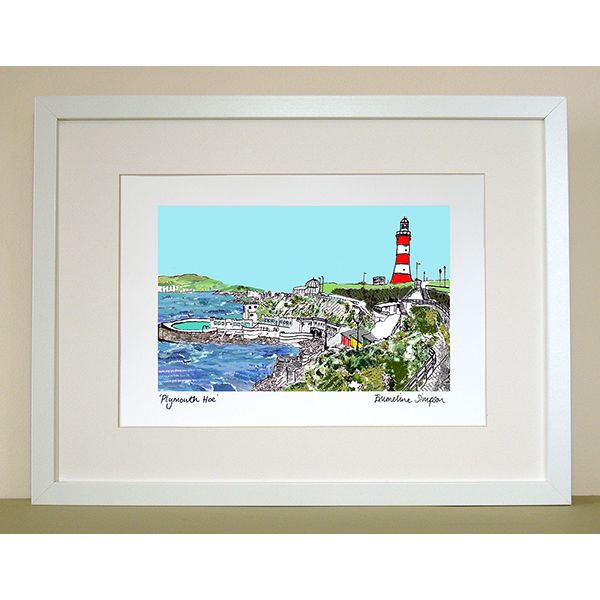 Plymouth Hoe Print