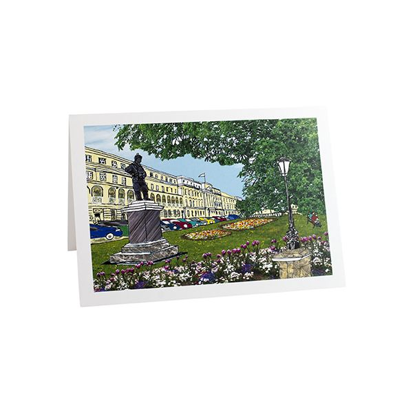 Cheltenham Promenade Greetings Card