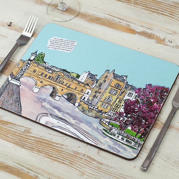 Pulteney Bridge Bath Placemat