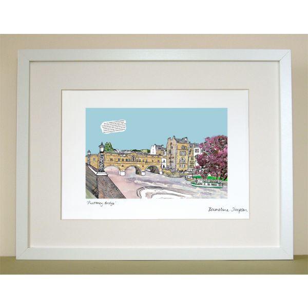 Pulteney Bridge Bath Print