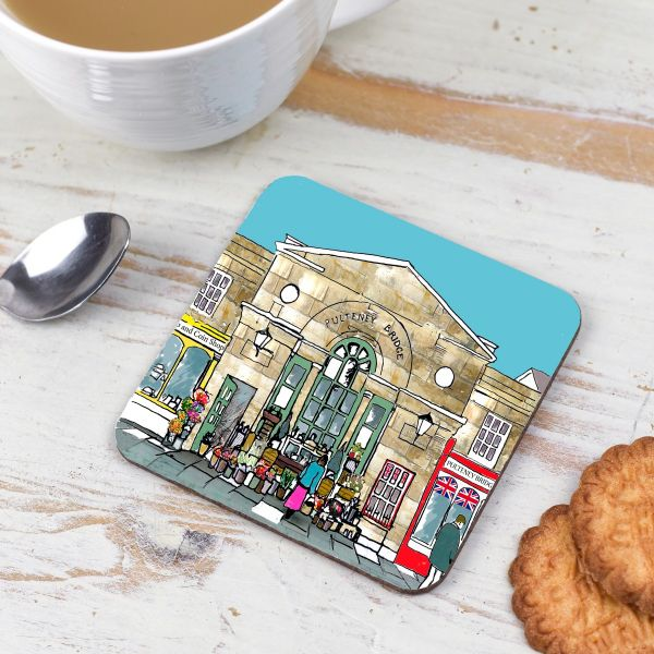 Pulteney Flowers Bath Coaster