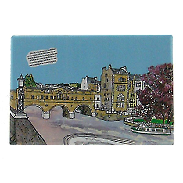 Pulteney Bridge Bath Fridge Magnet