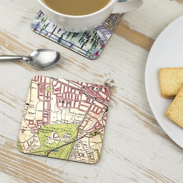 Putney Map, London Coaster