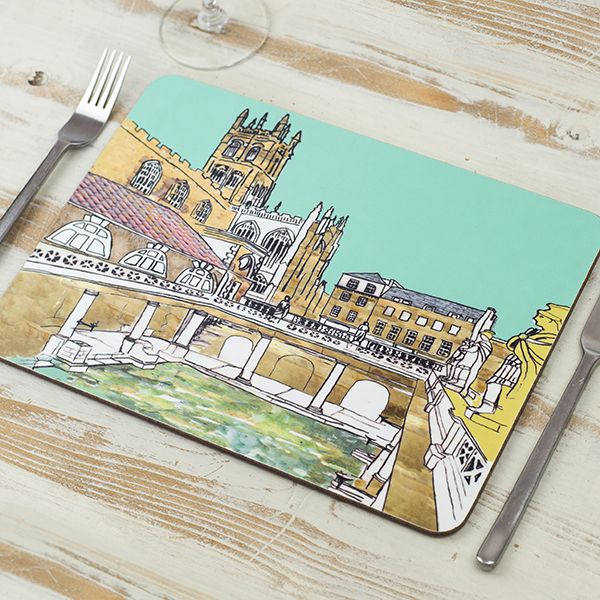 Roman Baths Placemat