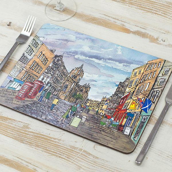 Royal Mile, Edinburgh Placemat