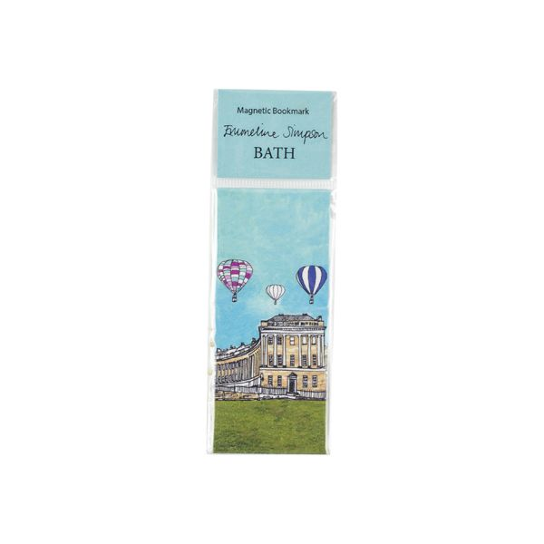 Royal Crescent Bath Magnetic Bookmark
