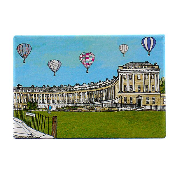 Royal Crescent Bath Fridge Magnet