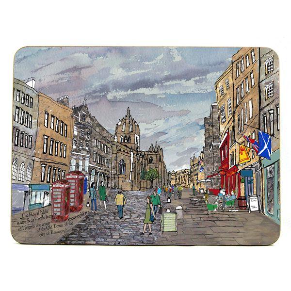 Royal Mile, Edinburgh Placemat