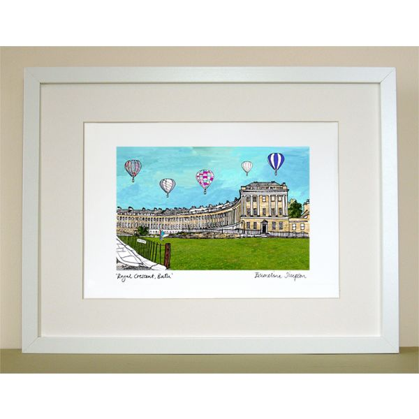 Royal Crescent Bath Print