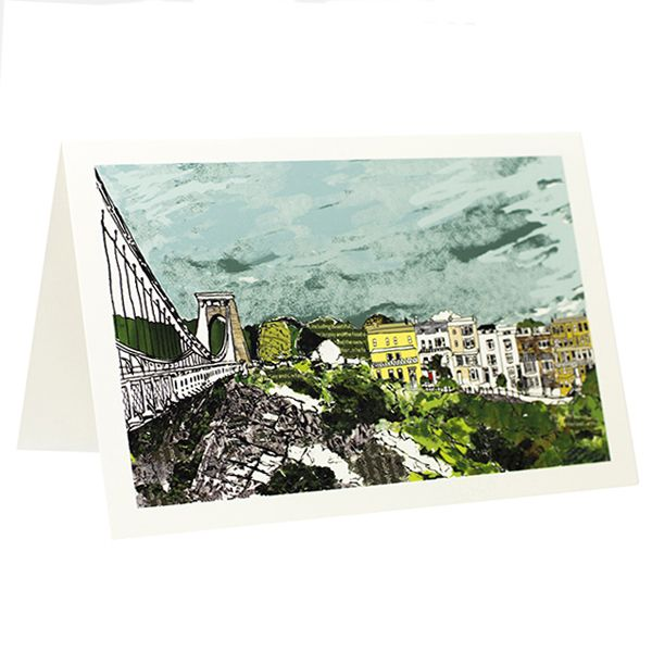 Sion Hill Greetings Card