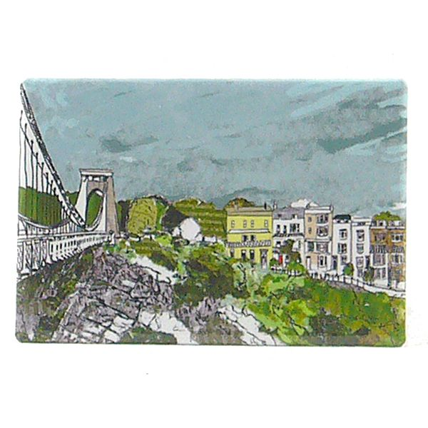 Sion Hill Bristol Fridge Magnet