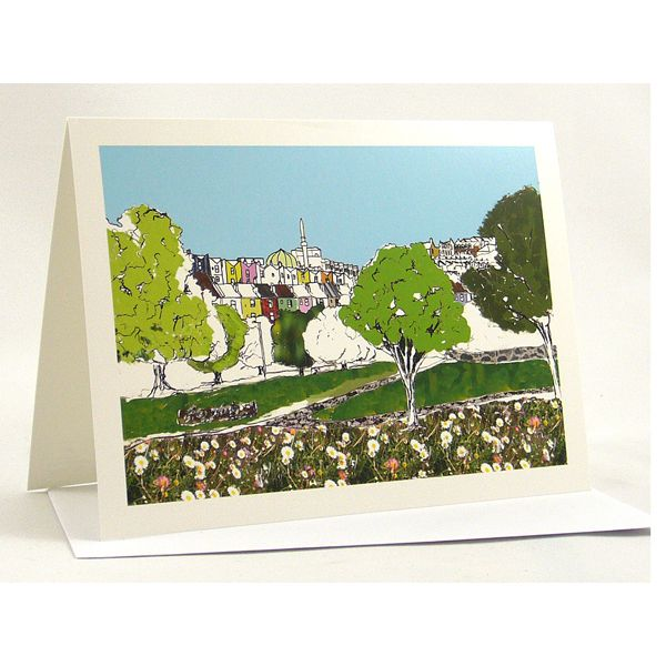Totterdown View Bristol Greetings Card