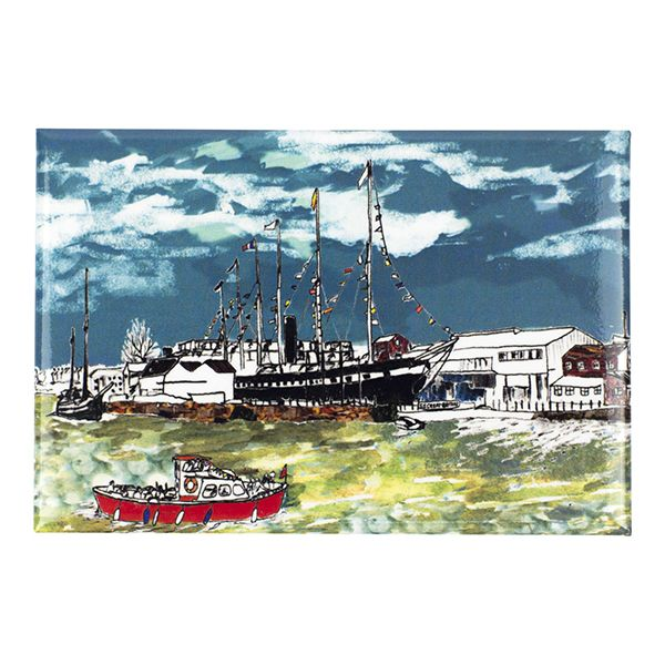 SS Great Britain Bristol Fridge Magnet