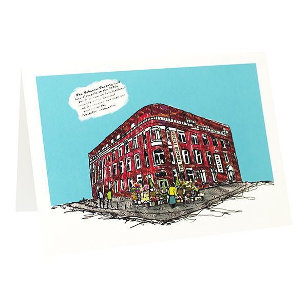 Tobacco Factory Bristol Greetings Card