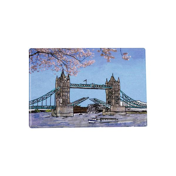 Tower Bridge London Fridge Magnet