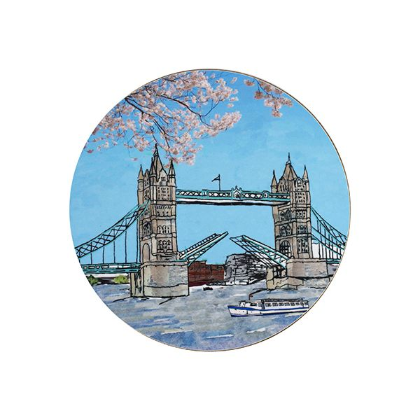 Tower Bridge Teapot Stand Circular