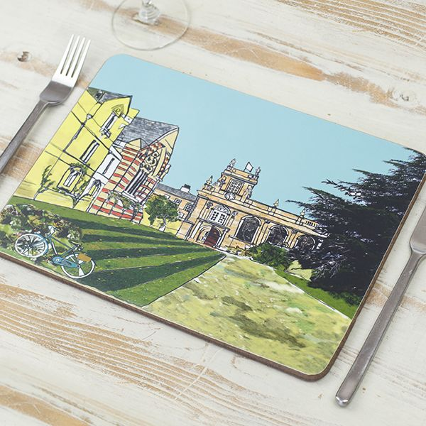 Trinity College Oxford Placemat