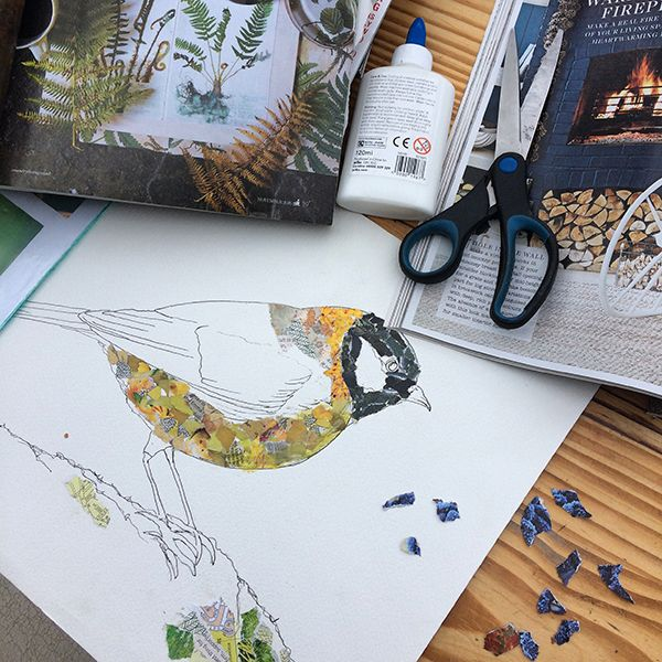 Collage Workshop Friday 9th Oct 10.30 am -1.00 pm